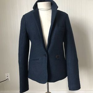 Gsus Sindustries Wool Blazer Style Lined Coat